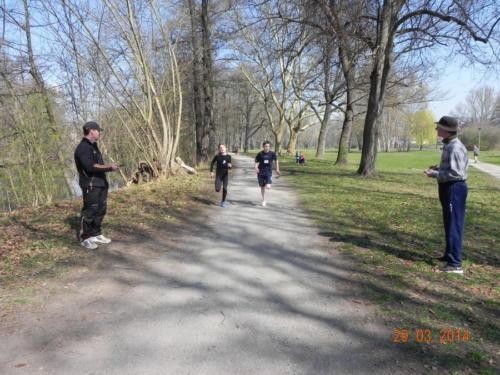 37. Rudererlauf am 29.3.2014 in Jena