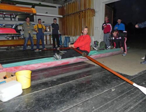 Eine etwas andere Trainingseinheit