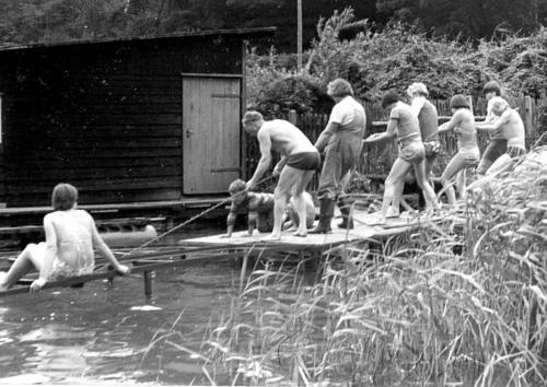 Ruderlager Zechlin 1979